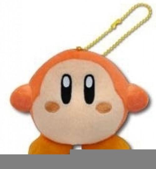 Kirby Pluche Keychain - Waddle Dee