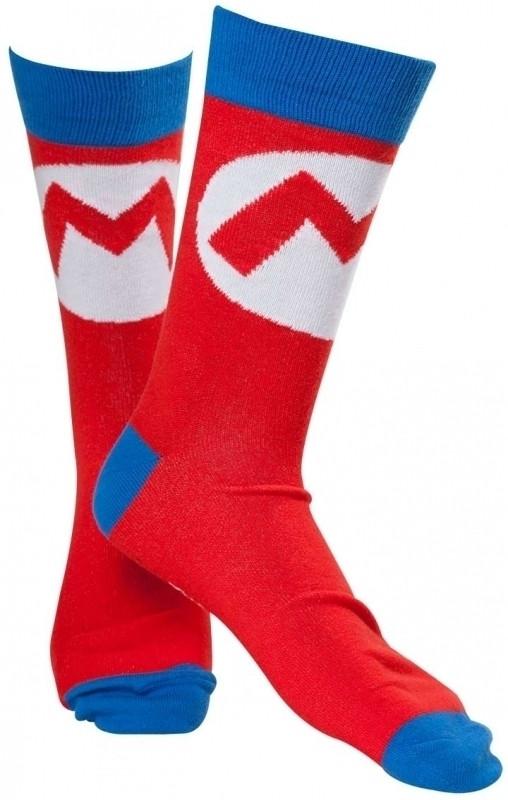 Nintendo - Mario Logo Socks
