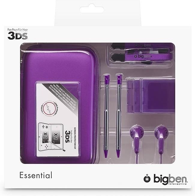 Image of Big Ben Essential Pack 3DSPACK3 (Paars)