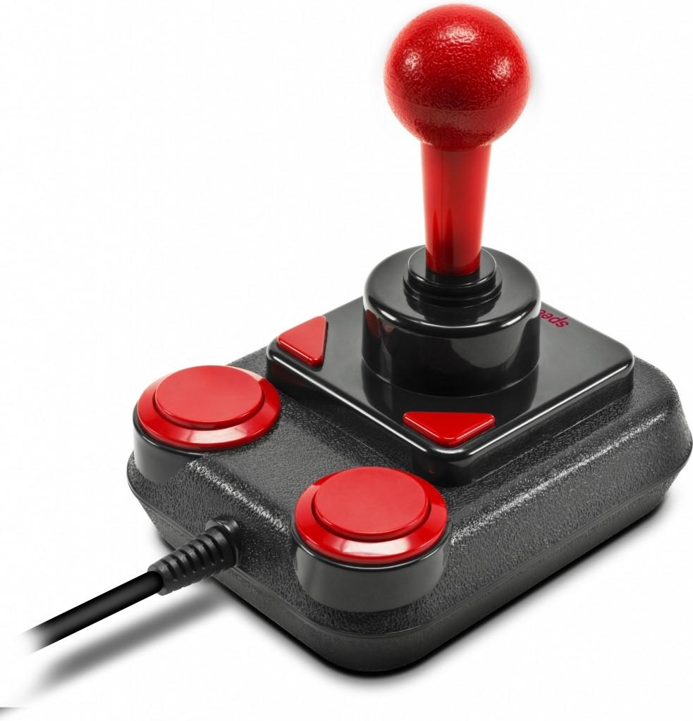Speedlink Competition Pro Extra USB Joystick - Anniversary - Zwart/Rood