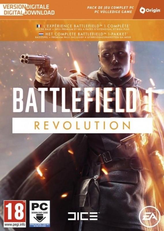 Battlefield 1 Revolution PC voor €15
