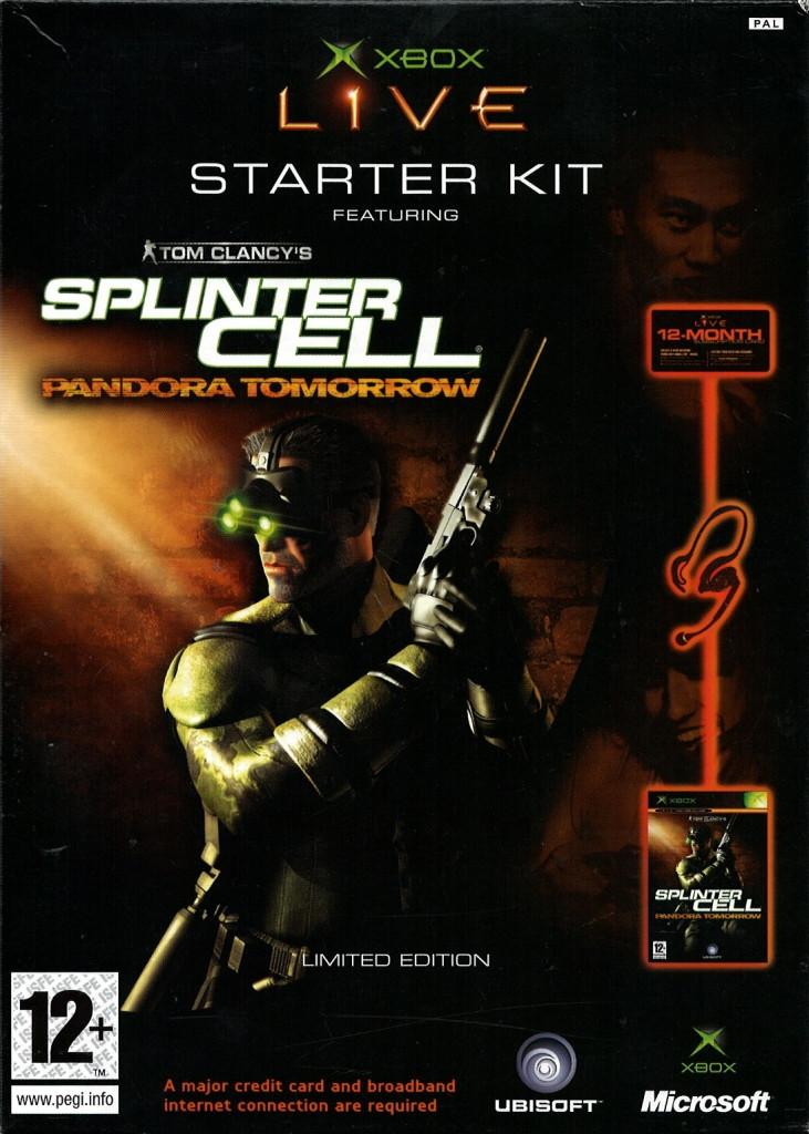 Splinter Cell Pandora Tomorrow + Xbox Live + Communicator kopen