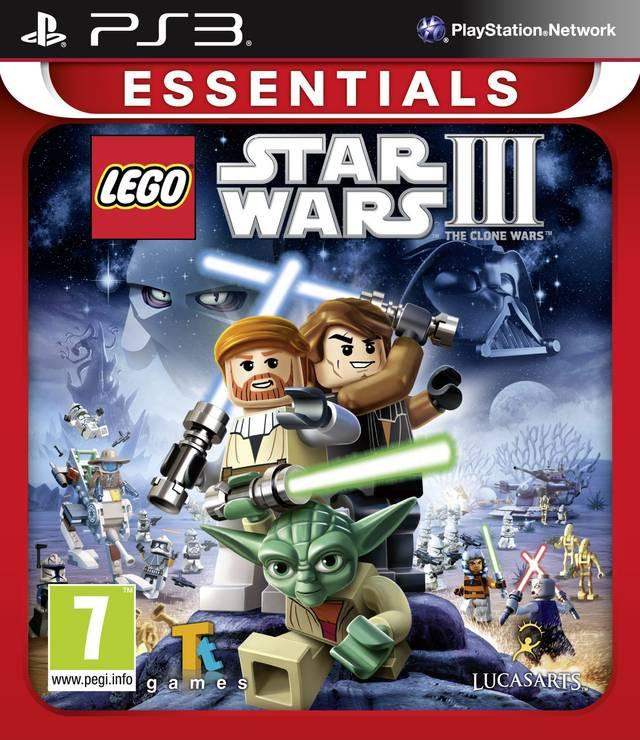 Goedkoopste Lego Star Wars 3 The Clone Wars (essentials)