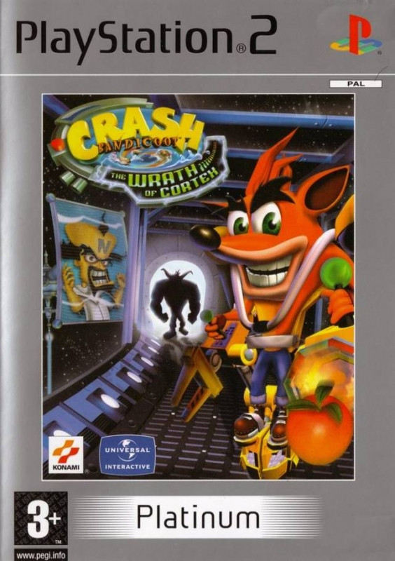 Crash Bandicoot the Wrath of Cortex (platinum) kopen