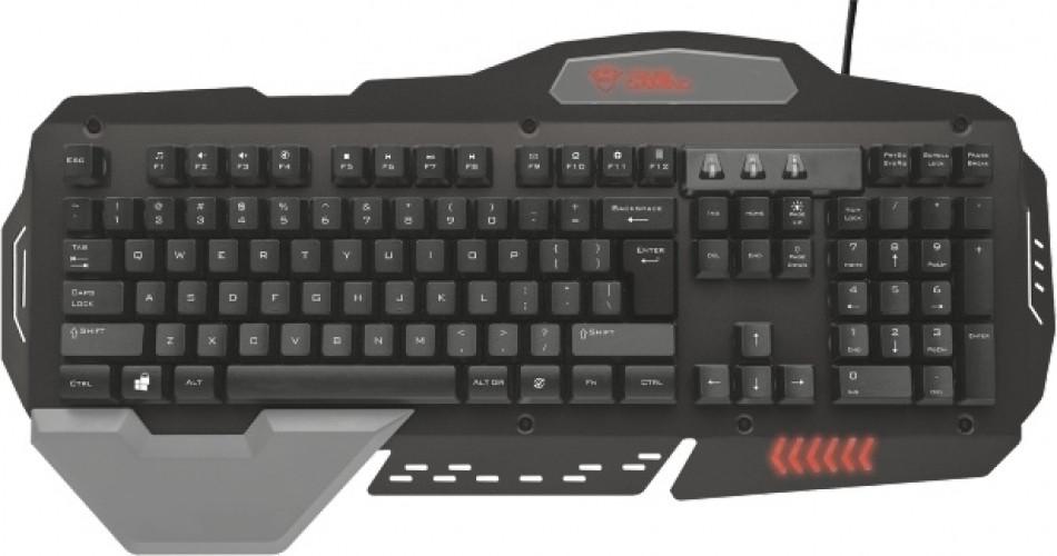 Trust GXT850 Metal Gaming Keyboard