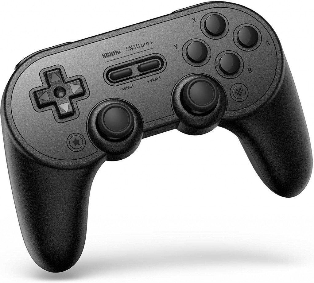 8Bitdo SN30 Pro+ Bluetooth Gamepad (Black Edition) kopen