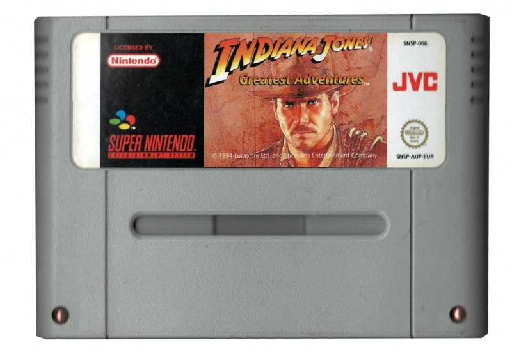 Indiana Jones (losse cassette)