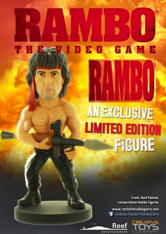 Rambo The Videogame Figure: Rambo with Rocket kopen