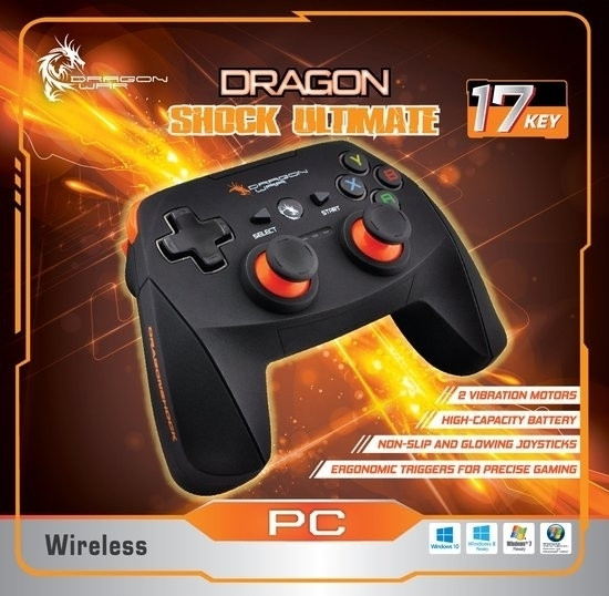 Image of Dragon War Dragon Shock Ultimate Wireless PC Controller