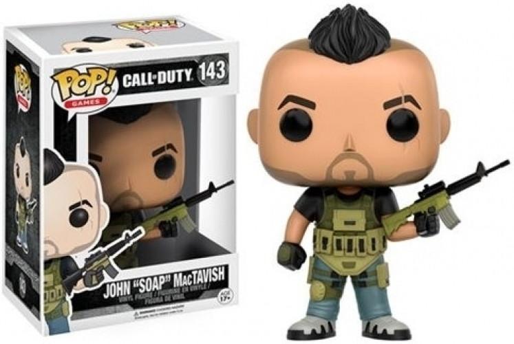 Call of Duty Pop Vinyl Figure: John 'Soap' MacTavish kopen