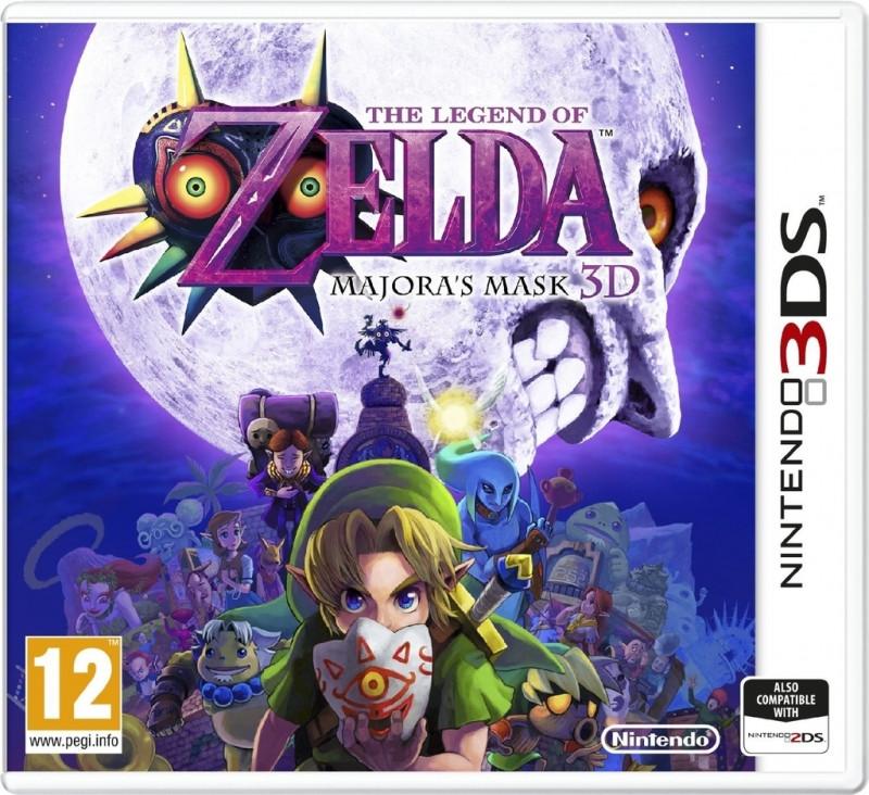 3DS The Legend of Zelda Majoras Mask 3D
