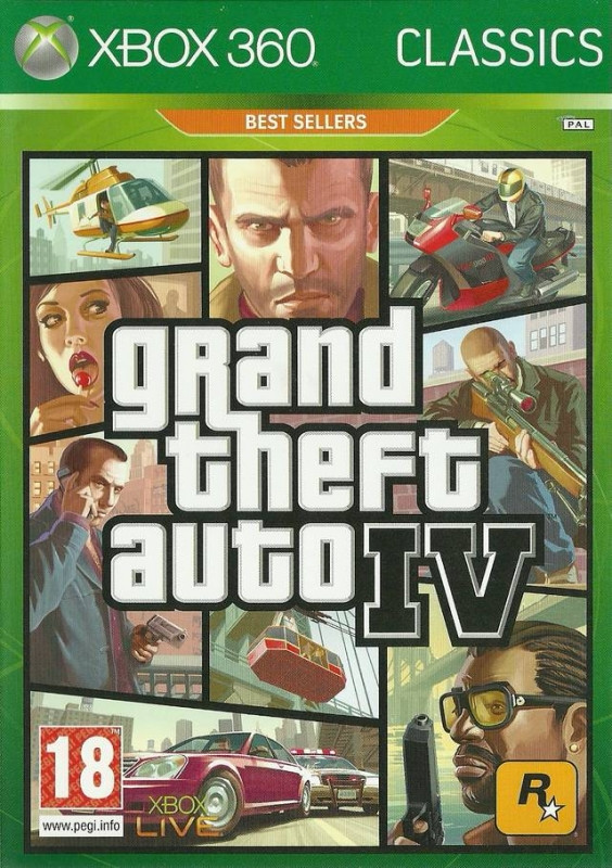 Grand Theft Auto 4 (Classics)