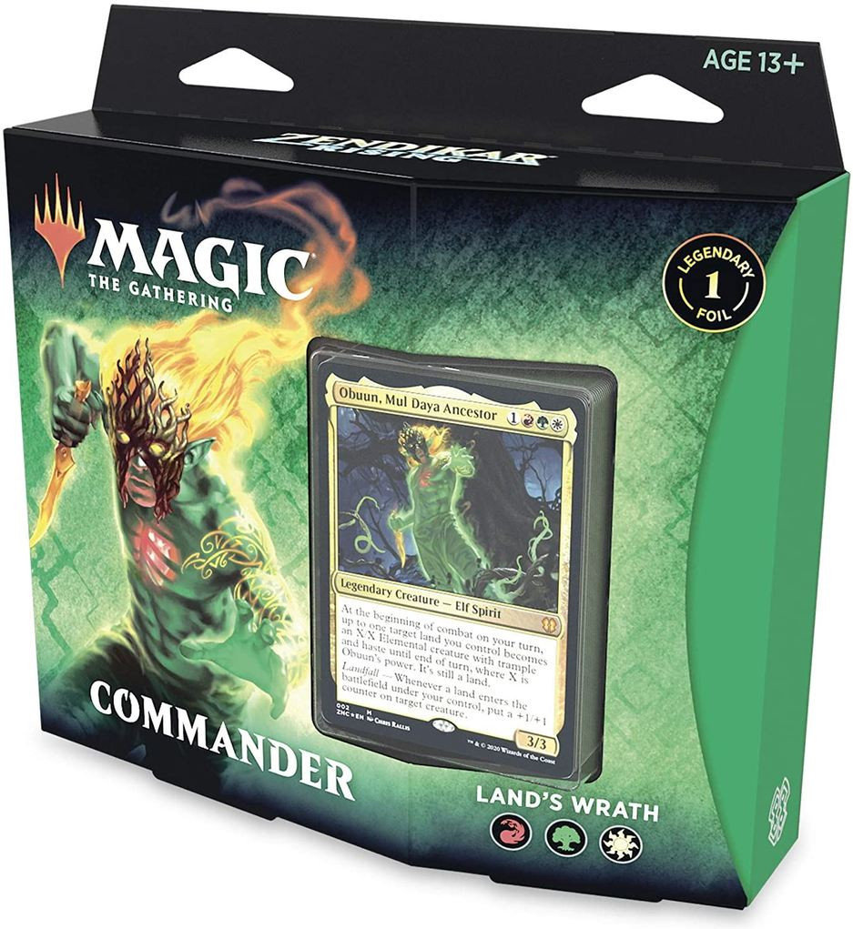 Magic the Gathering Zendikar Rising Commander Deck - Land's Wrath kopen