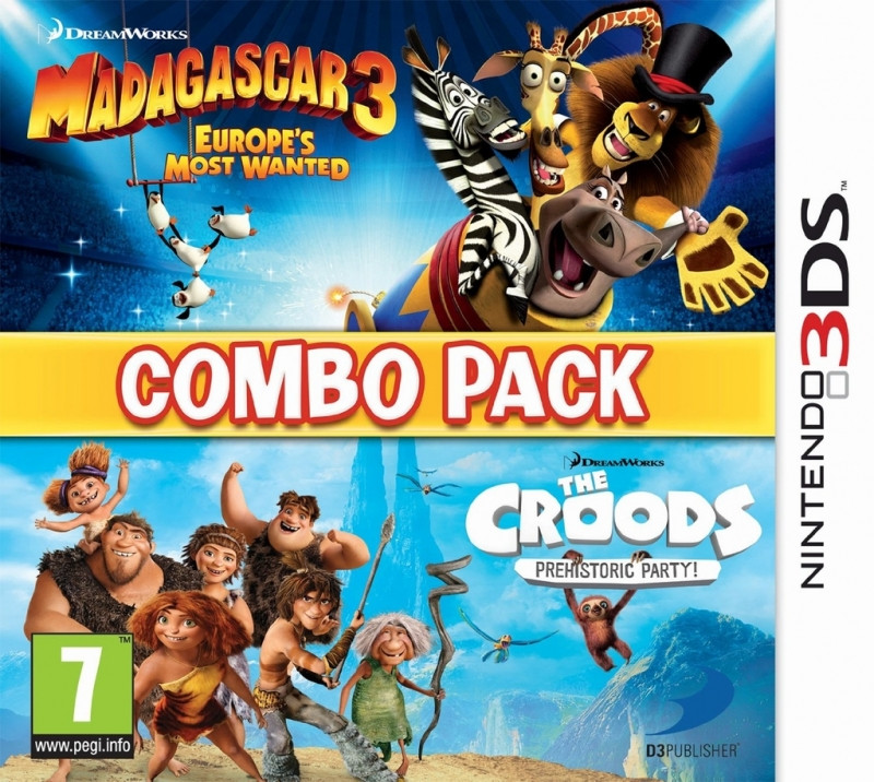 Goedkoopste Madagascar 3 + The Croods (Combo Pack)