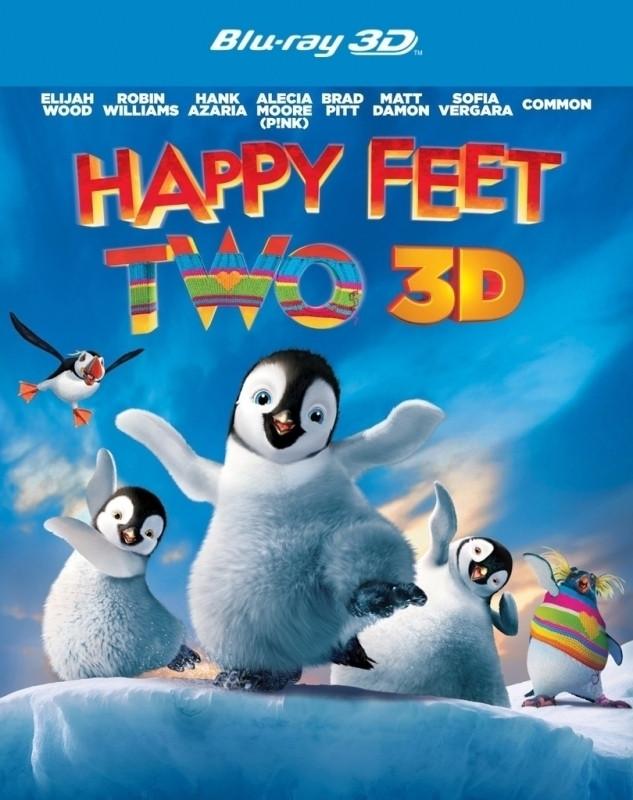 Happy Feet 2 (3D) (3D & 2D Blu-ray)