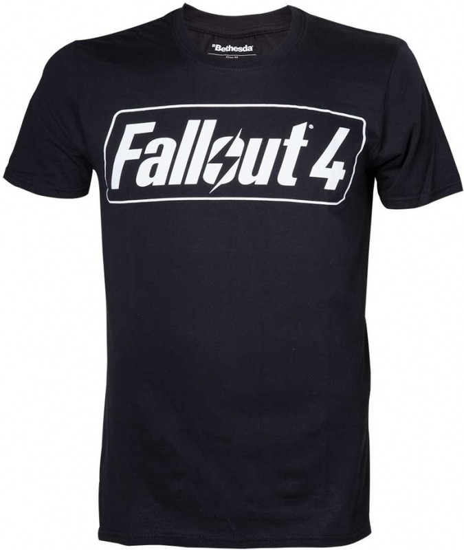 Fallout 4 Logo Print T-Shirt