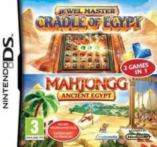 Jewel Master Cradle of Egypt + Mahjong 2 Pack