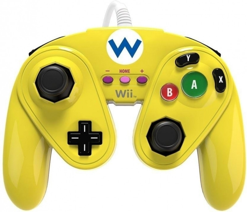 Wii U Wired Fight Pad - Wario