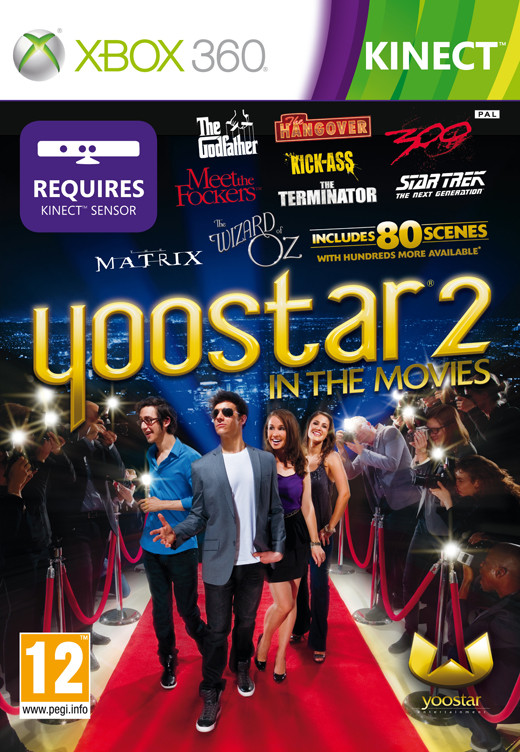 Kinect Yoostar 2 Game Xbox 360