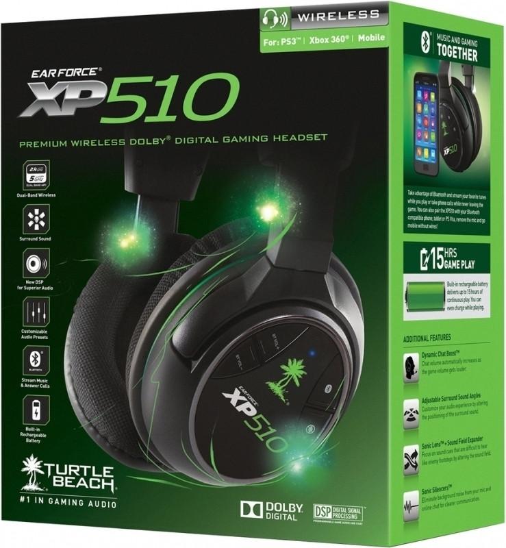 Turtle Beach Ear Force XP510 Gaming Headset