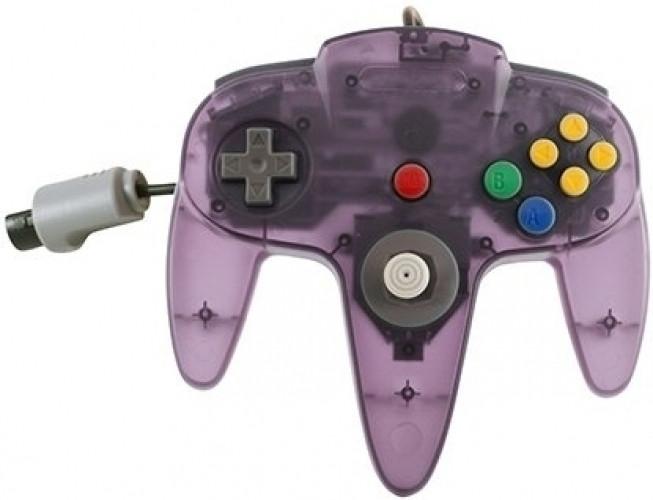 Nintendo 64 Controller Paars Transparant (TTX Tech)