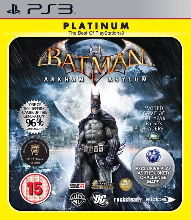 Batman Arkham Asylum (platinum) kopen