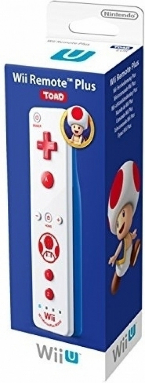 Nintendo Remote Controller Plus (Toad Edition) Wii U (2312766)
