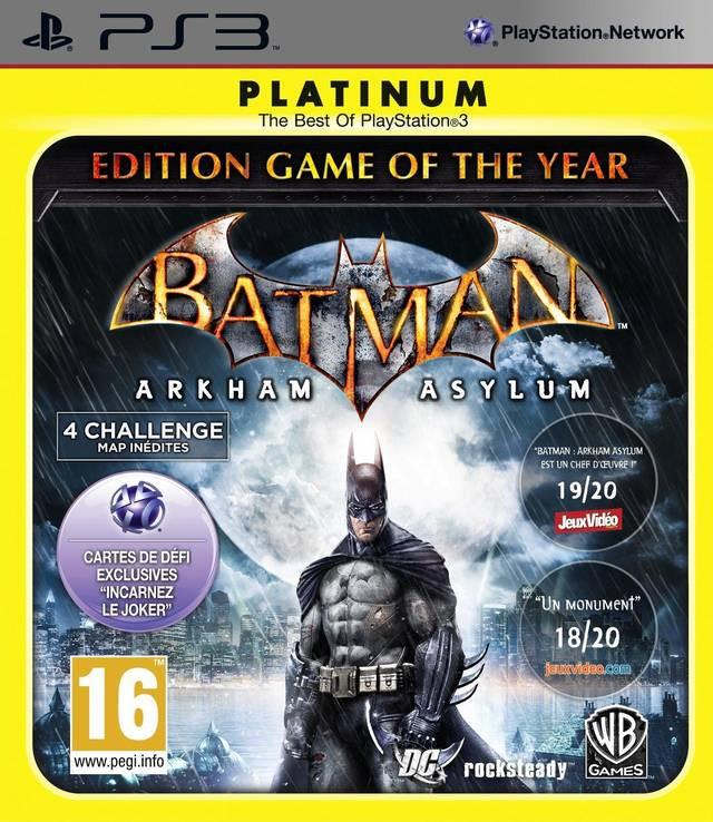 Batman Arkham Asylum (Game of the Year Edition) (platinum) kopen