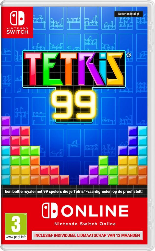 Tetris 99 + 12 Maanden Nintendo Switch Online