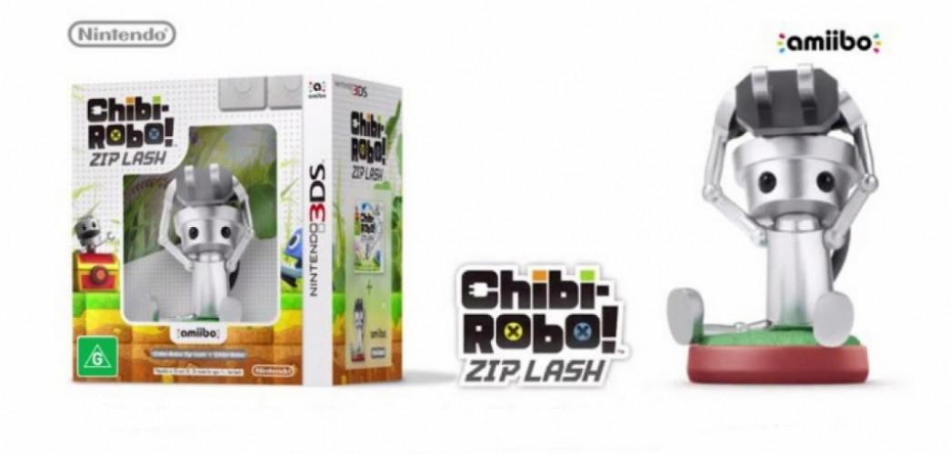 Chibi-Robo: Zip-Lash + Chibi-Robo amiibo 3DS