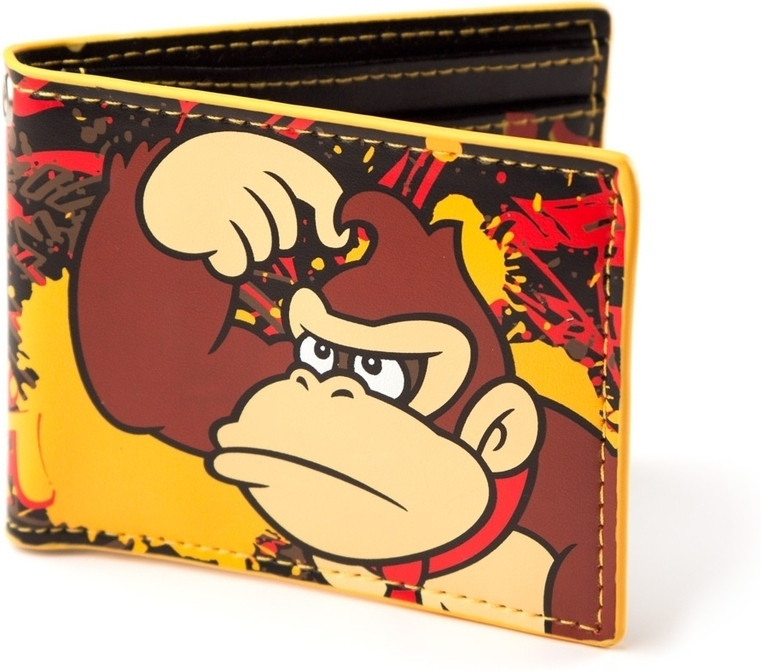 Donkey Kong Printed Bifold Wallet