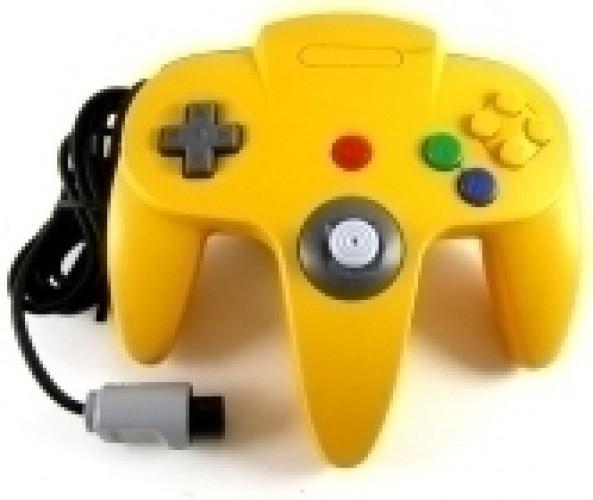 Goedkoopste Nintendo 64 Controller Geel (TTX Tech)