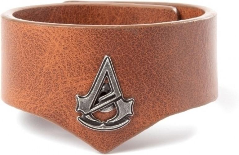 Assassin's Creed Unity Pebble Grain PU Cuff Wristband