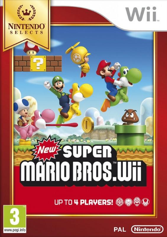 Wii New Super Mario Bros: Select