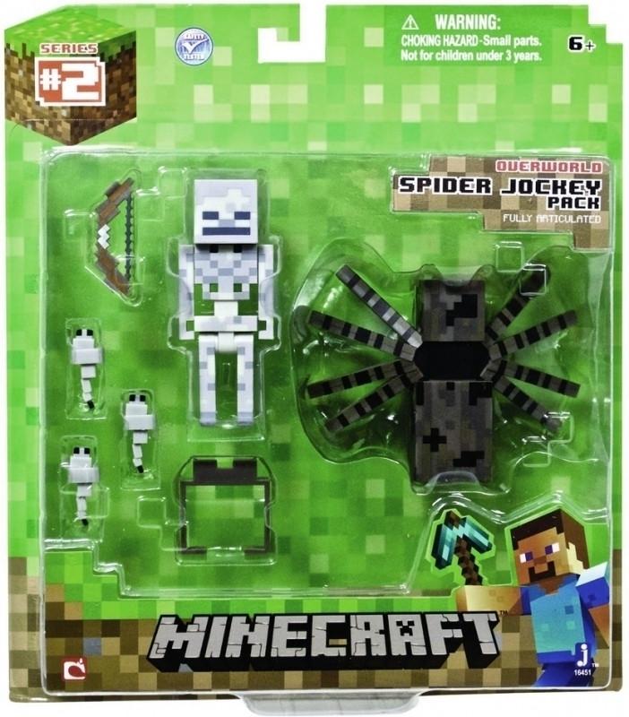Minecraft Action Figure: Spider Jockey Pack