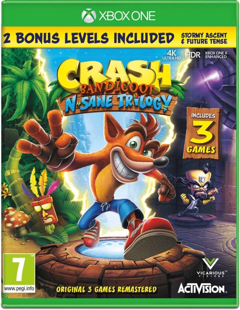 Activision Crash Bandicoot N.Sane Trilogy Xbox One (88196EN)