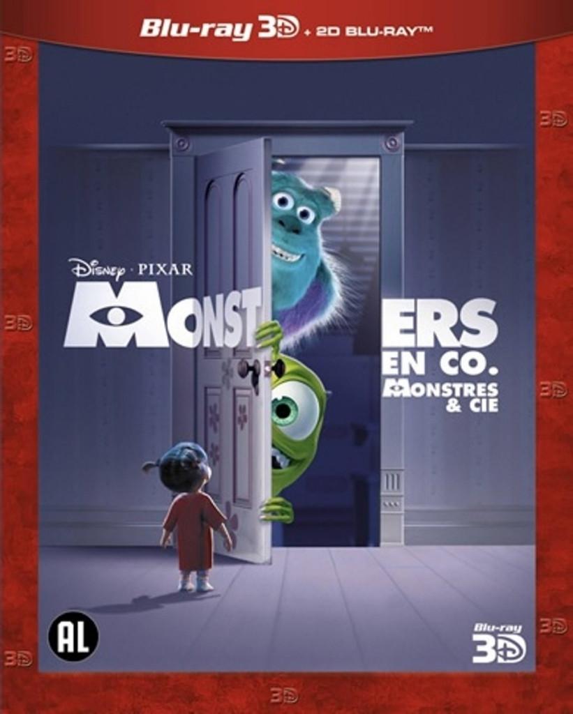 Monsters En Co. (3D) (3D & 2D Blu-ray)