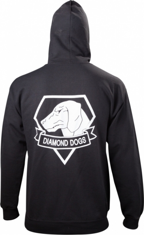 Metal Gear Solid V Diamond Dogs Zipper Hoodie