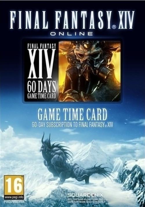Final Fantasy XIV A Realm Reborn Pre-Paid Game Card (60 Dagen) kopen