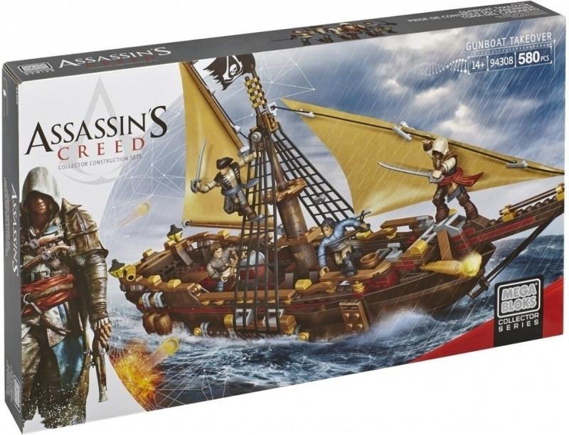 Mega Bloks Assassin's Creed: Gunboat Takeover