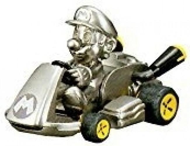 Mario Kart 8 Pull Back - Metal Mario
