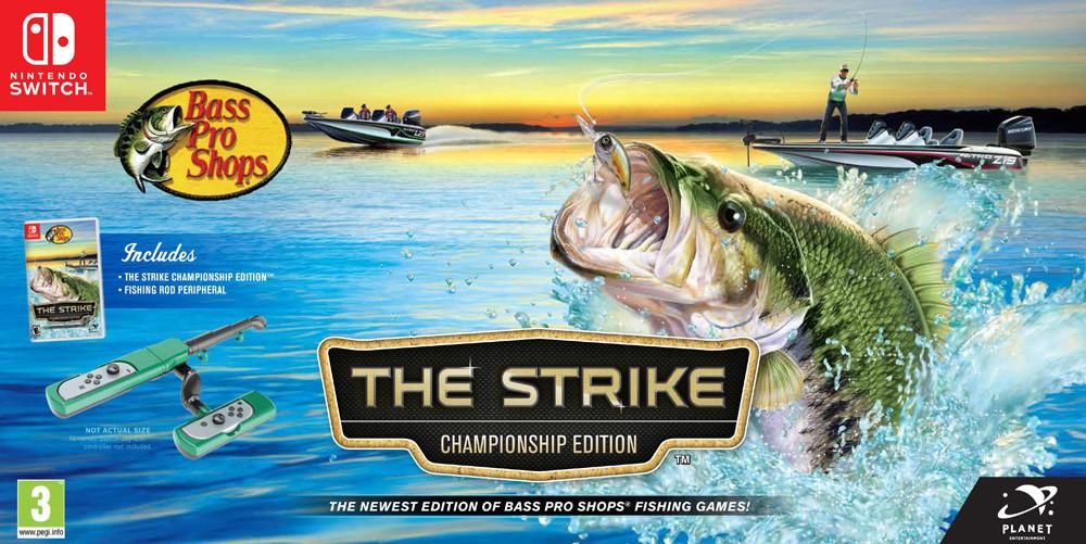 Goedkoopste Bass Pro Shops The Strike + Fishing Rod