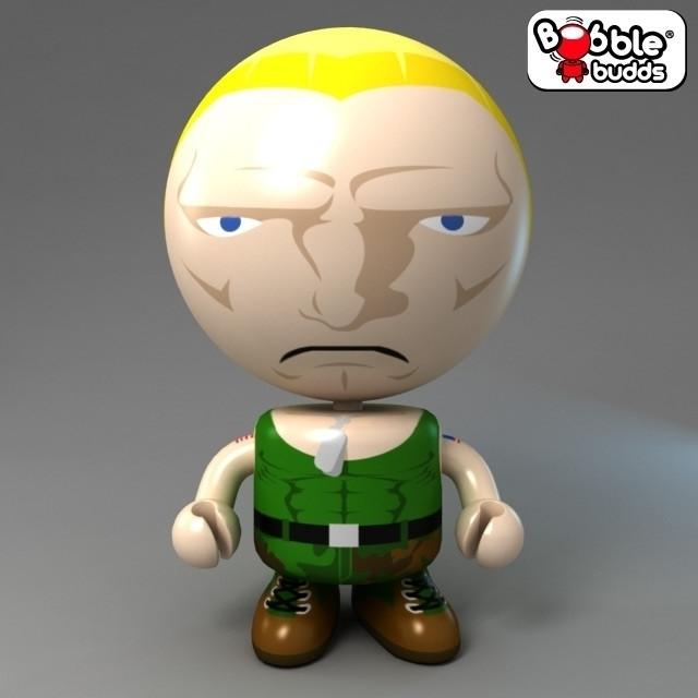 Image of Street Fighter Bobble Budds: Guile