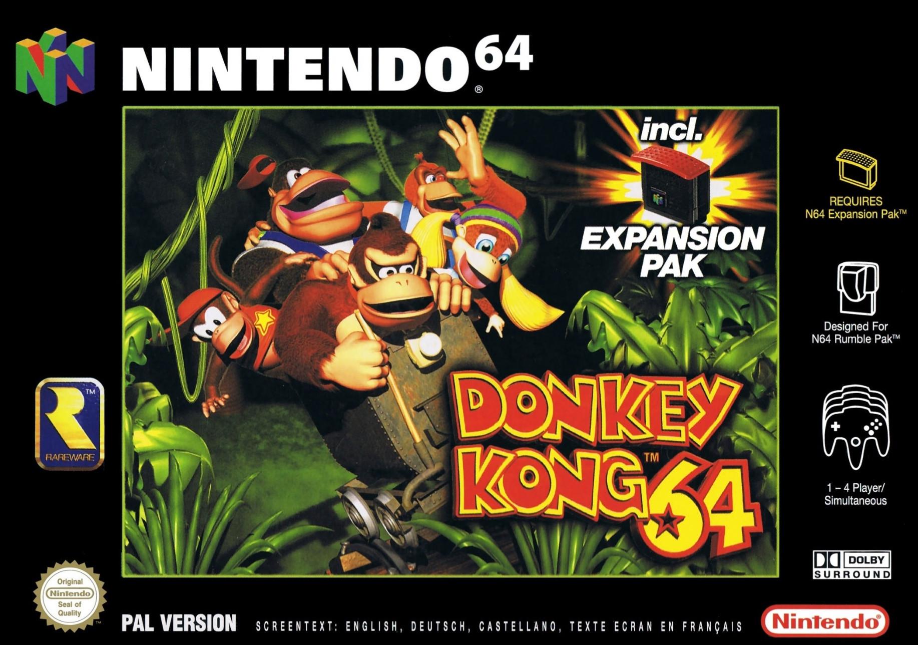 Goedkoopste Donkey Kong 64 (exclusief Expansion Pak)