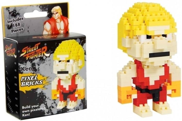 Street Fighter Pixel Bricks - Ken