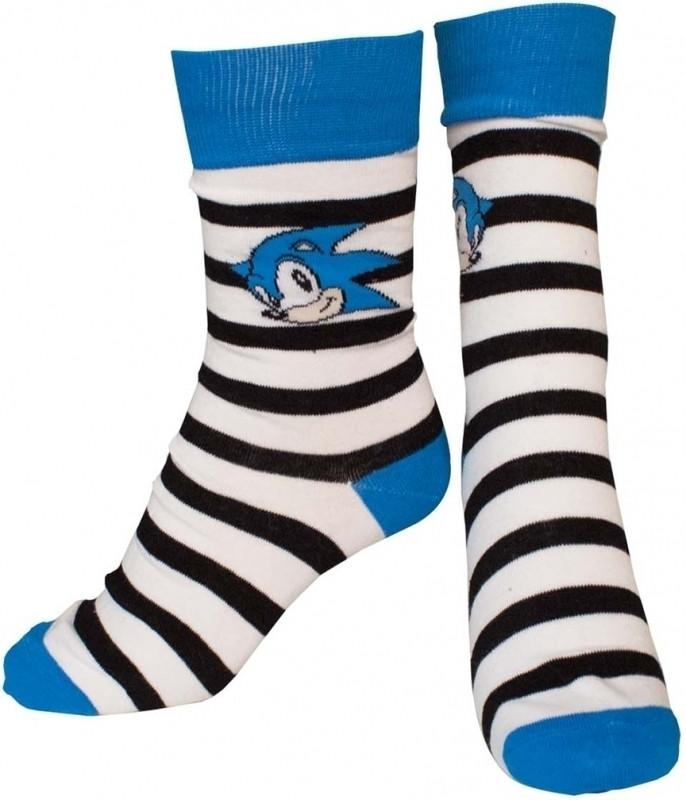 Sonic - Striped Socks