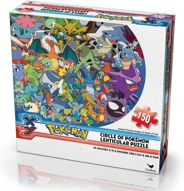 Image of Pokemon X&Y Lenticular Puzzle - Circle of Pokemon