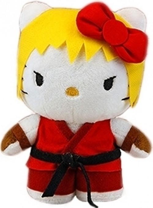 Street Fighter X Sanrio - Hello Kitty Ken Pluche 15cm