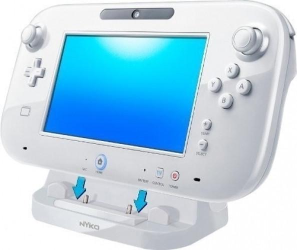 Nyko Power Stand for WiiU GamePad (White)
