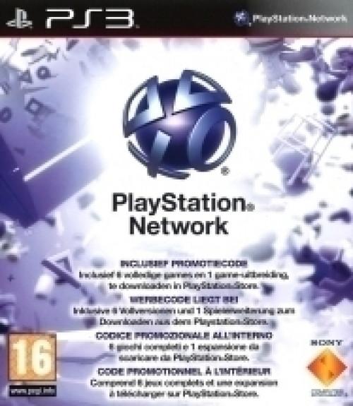 Playstation Network Download Voucher (6 Games Pack)